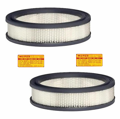 Dual Quad Air Filters for 1960-61 Chrysler 300F - 300G & 1963-64 300J - 300K