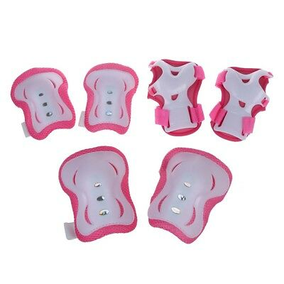 Children Knee Palm Elbow Protective Support Pad Pink PK T5R4