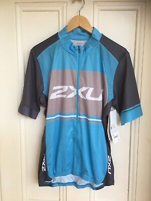 2XU mens cycling top - size XL - RRP $170 - brand new with tags