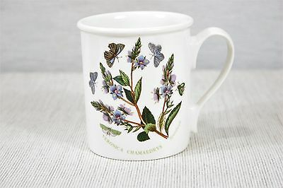Portmeirion Botanic Garden Mug Speedwell Flowers and Butterfly  England MINT