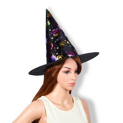 Hot Funny Witch Gauze Hat Halloween Masquerade Carnival Party Costume Accessory
