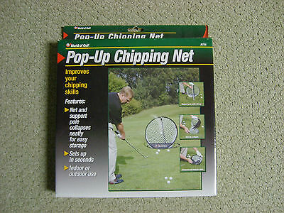 Pop-Up Chipping Net for Golfers