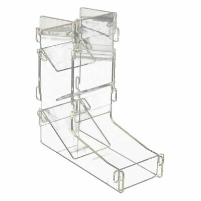Acrylic Transparent Prism Gaming Dice Towers Toy Board Game 175X155X62mm Q6 A4W5