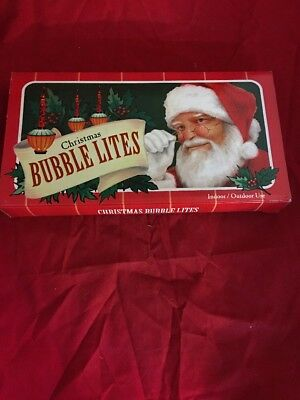 Midwest Retro CHRISTMAS BUBBLE LIGHTS Seven Light Strand. New