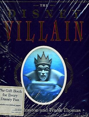 The Disney Villain by Ollie Johnston and Frank Thomas - hardcover - signed