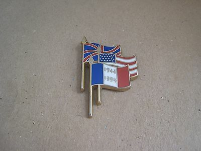 07-01 - 50th anniversary of the D DAY pin - June 6, 1944 badge - pinback - pins