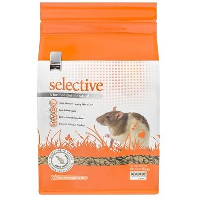 Supreme Selective Fortified Diet Healthy Balanced Nutritious Food for Rats 4 lbs