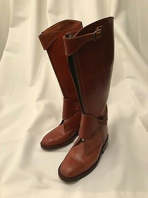 Polo Boots. Handmade in Argentina. Size UK10-11. Used once for a photo-shoot.