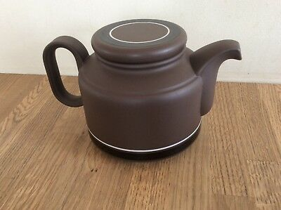 Hornsea Pottery Contrast Teapot  In Very Good Condition