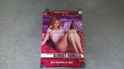 Almost Famous DVD/video store poster