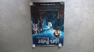 Harry Potter and the goblet of fire DVD/video store poster