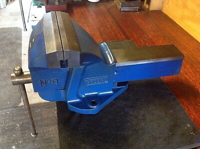 Record No 8 Engineers Vice 200mm Wide Jaws