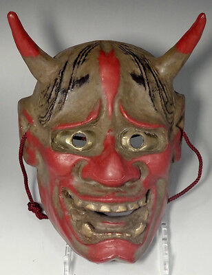Hannya / Antique Japanese dry lacquered mask #2617