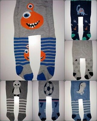 baby boys tights leg warmers stretchy cotton 6-9-12-18-24 month boyish style