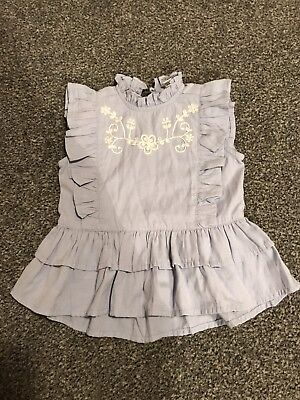 River Island Mini Gorgeous Top Girls 9-12 Months