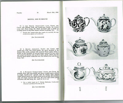 Well Known Collection of  FINE ENGLISH TEAPOTS. Rev. C.J. Sharp. Sothebys 1964