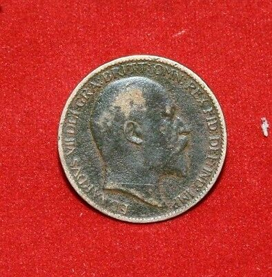 UK Farthing 1904 Edward VII KM# 792 Sp# 3992