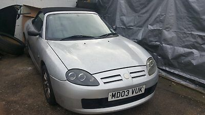 MG TF Convertible SPARES OR REPAIR, VERY LOW MILEAGE