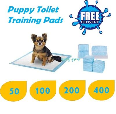 Puppy Toilet Wee Pads Dog Potty Training Pee Pet Cat Absorbent 60x60cm