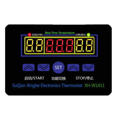 XH-W1411 DC 12V Multi-functional Temperature Controller Thermostat Switch N B7E7