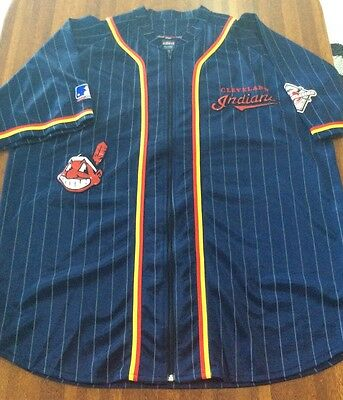 Cleveland Indians American Baseball Jersey Size XL