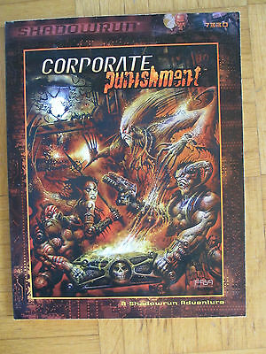 SHADOWRUN – CORPORATE PUNISHMENT - FASA 7330 – English - SR FRPG Source Guide