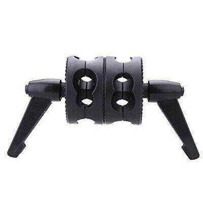 B6 Dual Swiveling Grip Head Angle Clamp for Photo Studio Boom Arm Reflector Q7R5