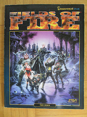 SHADOWRUN – FIELDS OF FIRE - FASA 7114 – English - SR FRPG Roleplay guide source