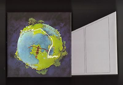 YES empty Disk Union FRAGILE Drawer PROMO box for JAPAN mini lp cd very rare NEW