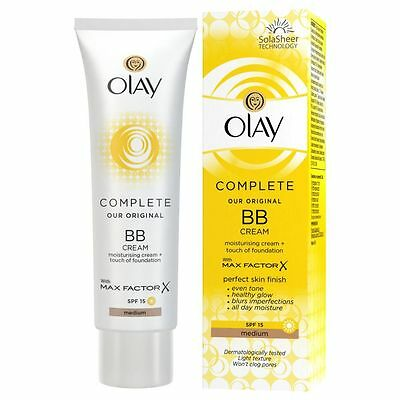 Olay Complete Bb Cream Moisturising Cream + Touch Of Foundation Spf 15 Medium