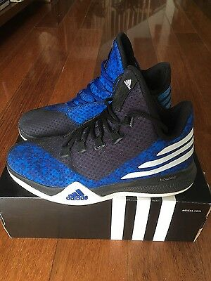 Boy's adidas basketball high top shoes US7