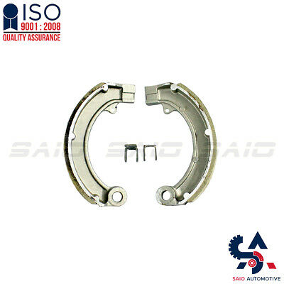 Vespa GS Sprint Rally Front Brake Shoe With Clips - Saio | High Quality
