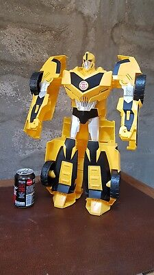 Transformers geant 50 cm Super Bumblebee - Hasbro 2014 comme neuf