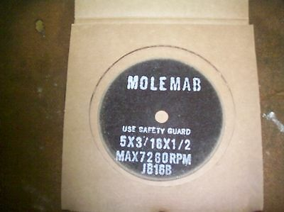 foley belsaw model 307/ 308 5X3/16X1/2 after market grinding wheel.