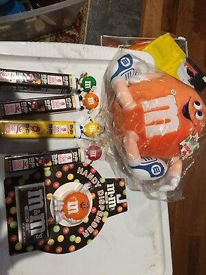 Collectible M&M Candy and Stuffed M&M (Worth a lot)!
