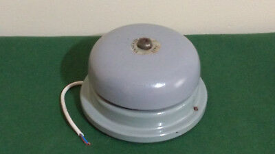 Gent of Leicester Tangent Alarm Bell. Working with 9V Battery