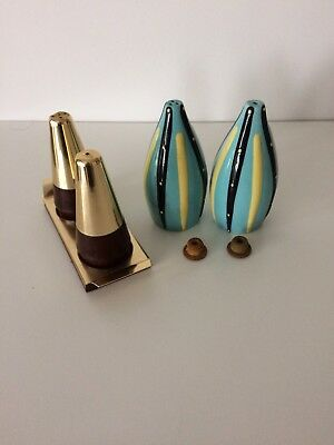 Retro Salt And Pepper Pots