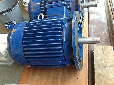 11KW Motor 3 phase, 2930 rpm, flange motor, class S1,  ( motor A)