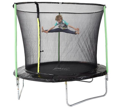 NEW Plum Round 8ft Trampoline with Safety Net Enclosure Christmas Gift Present