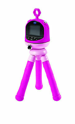 Pink Vtech Kidizoom Flix Playset Camera Video On Tripod, 1.8 Inch Colour Screen