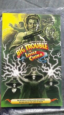 BIG TROUBLE IN LITTLE CHINA VOLUME 2 GRAPHIC NOVEL New boom comics