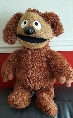 Disney Store Muppets Most Wanted Rowlf the Dog Soft Toy Stamped