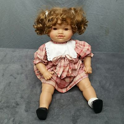 "Lissi Batz 23"" Loise Made In Germany Baby Doll Blinking Eyes Limited"