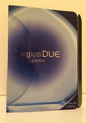 BIAGIOTTI DUE Eau De Toilette EDT 2ml .06oz Sample Vial uomo men
