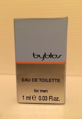 BYBLOS Eau De Toilette EDT 1 ml .03 oz Sample Vial for Men