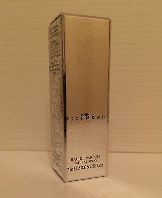 JOHN RICHMOND Eau De Parfum EDP 2ml .06oz SPRAY Sample Vial Donna
