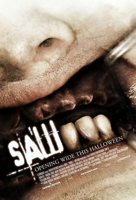 "SAW III 2006 Advance Teaser B DS 2 Sided 27X40"" Movie Poster Tobin Bell S Smith"