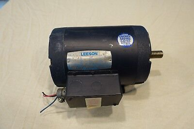 Leeson 115826.00 2HP 1725RPM 3 phase Paint booth Motor C6T17DB78A