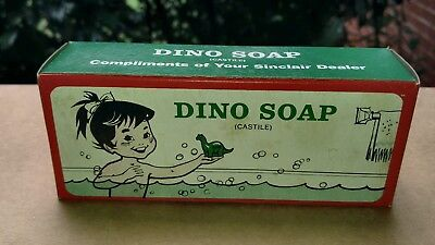 Sinclair advertising dinosaur soap.New old stock.