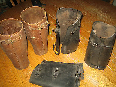 ww1 trench gaiters  3 sets